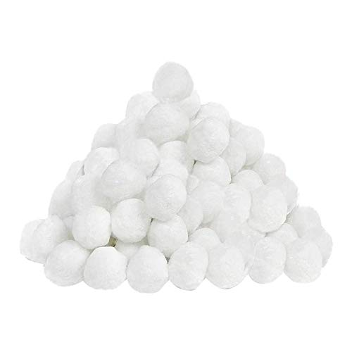 Bolas filtrantes para Piscinas, Bolas filtrantes para depuración de Agua, filtros de Arena para Piscinas, filtros de Agua, Respeto al Medio Ambiente (Color : 700g)