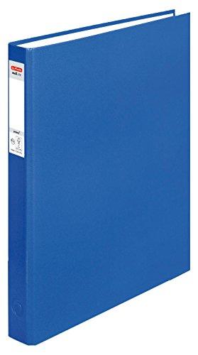 Herlitz ringband maX.file pRotect A4, 1 stuks, 2-rings combi-mechaniek, 25 mm vulhoogte, blauw blauw