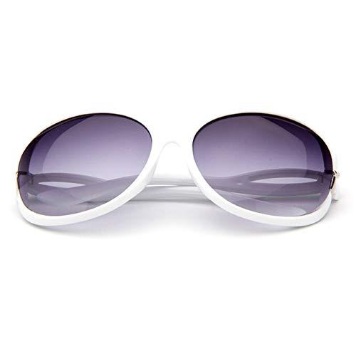 HNYL Gafas de sol Últimas tendencias Moda Casual Espejo Gafas de sol