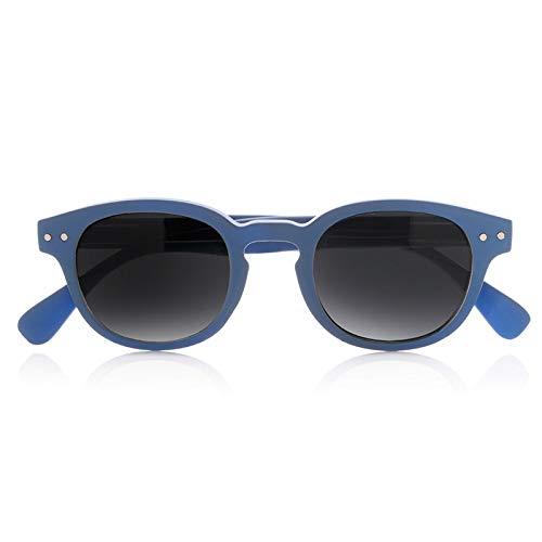 Foreyever Enjoy Gafas de Sol, Azul (BLU/Nero), 41 Unisex Niños