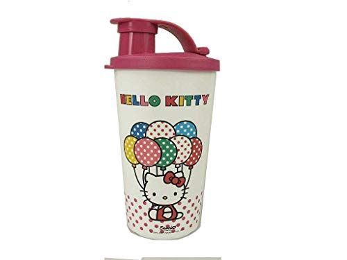 TUPPERWARE Kinder Trinkbecher 330 ml weiß pink Hello Kitty Trinkbecher Becher