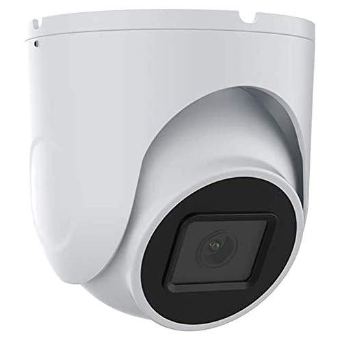 HDHUIXS Cámara IP de 5MP con cámara de 2,8 mm Super HD cúpula, Audio, detección de Movimiento, Inteligente IR, fácil configuración, fácil instalación