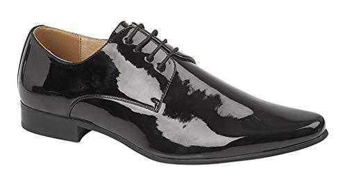 Goor - Chaussures de Ville en Cuir Verni à Lacets -...