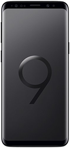 Samsung Galaxy S9 Smartphone (5,8 Zoll Touch-Display, 64GB interner Speicher, Android, Dual SIM) Midgnight Black – Internationale Version