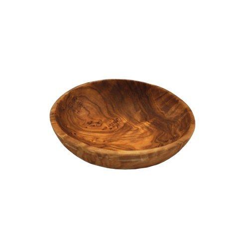 Naturally Med naturellement Med Bois d'olivier – Bol à Sauce – Ronde, 8,9 cm