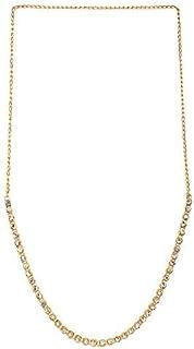 Frolics India Diamond Stones Fashion Stretchable Golden kamarband Waistband Luxury Gift Belt Women & Girl