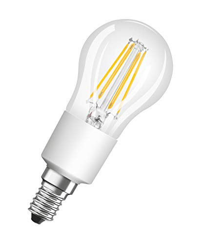 OSRAM Lot de 10 Ampoules LED | Culot E14 | Blanc chaud | 2700 K | 6,50 W équivalent 60 W | LED Retrofit | Forme sphérique | Dimmable