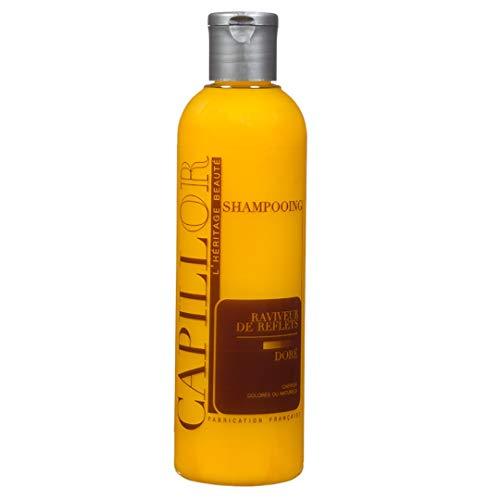 Capillor Shampooing Raviveur Doré - Pour cheveux naturels ou colorés - 250ml
