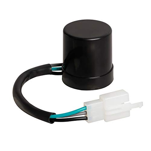 NTHREEAUTO 3 Pins LED Flasher Relay Fix for Motorcycle Turn Signal Hyper Flash Compatible with Scooter Moped ATV Dirt Bike Blinker Relays