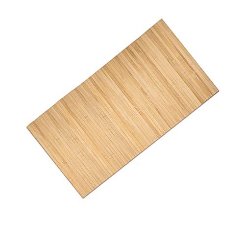Tappeto Cucina Bamboo antiscivolo lavabile,Tappeto Runner Lungo colorato,Passatoia Cucina Legno Bamboo,Taglio