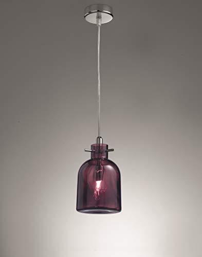 Selene Bossa Nova lámpara 33 W, amatista