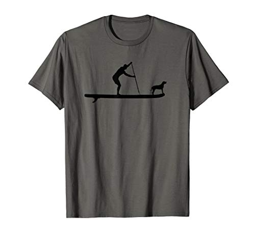 SUP Dog Stand Up Paddle Board Paddling Surf Surfing T-Shirt
