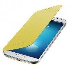 itronik Flip Cover Schützende Display-Klappe für Samsung Galaxy SIV S4 I9500 I9505 gelb