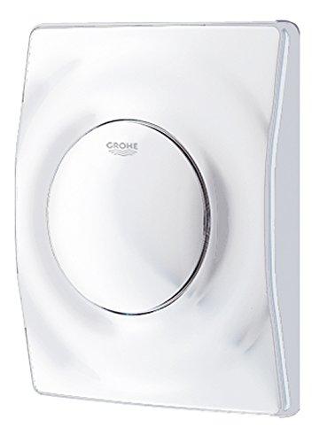 Preisvergleich Produktbild Grohe Revisionsplatte Surf,  Urinal-Betätigungsplatte,  116 x 144 x 32 mm,  weiß,  38808SH0