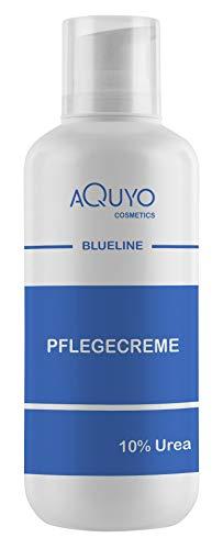Blueline 10% Urea Creme für sehr trockene Haut (500ml Spender) | Körpercreme bei Psoriasis oder Neurodermitis, Pflegecreme gegen Juckreiz, Hautpflege für Hautunreinheiten und Ausschlag