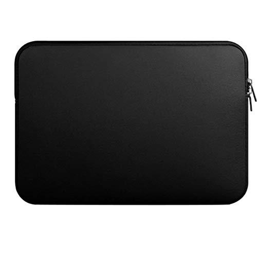 linjunddd 13-Zoll-Laptop-hülle Durable Notebook-Computer Tasche Tablet Aktentasche Tragetasche Beutel-Haut-Abdeckung Schwarz Computer-zubehör