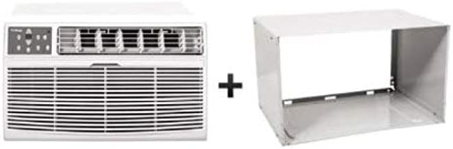 Koldfront WTC10002WCO115VSLV White 10,000 BTU 115 Volts Through-The-Wall Air Conditioner and Wall Sleeve with 24 Hour Timer and Remote Control