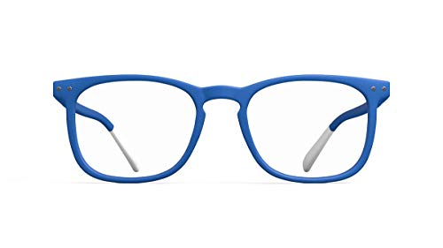Pantone Lesebrille Nr. Three + 3, Elec Blue