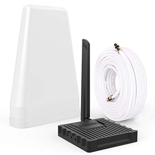 SolidRF Cell Phone Booster for Home & Office   Up to 2,000 sq ft   Cell Phone Signal Booster Kit for All U.S. Carriers -Verizon,AT&T, T-Mobile, Sprint & More   FCC Approved