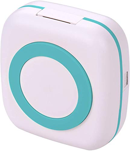 VANZO, White-Original, White-Original Mini Printer for Phone, Thermal Receipt Pocket Printers Wireless Portable Compatible with iOS + Android for Study Notes, Journal, Work