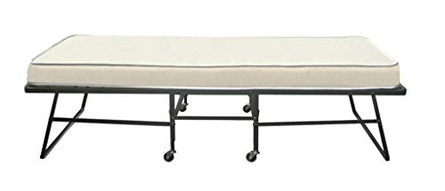 39' Wide Hospitality Rollaway Bed w/ 6' Tufted Premium Innerspring Mattress