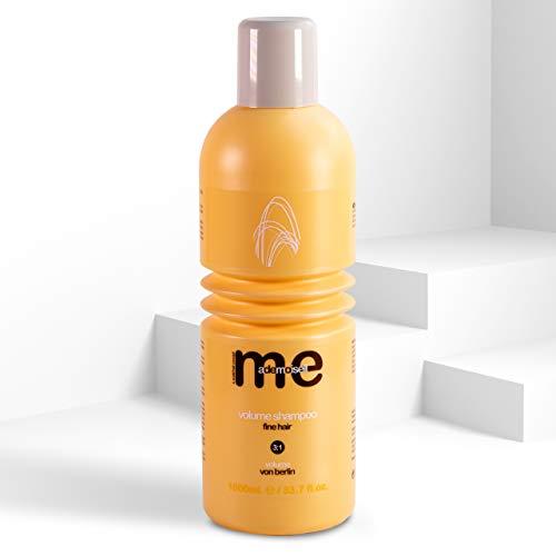 MeMademoiselle Volumen Shampoo Damen für feines Haar | Haarshampoo Damen für die perfekte Haarpflege | Shampoo ohne Silikon (1000ml)
