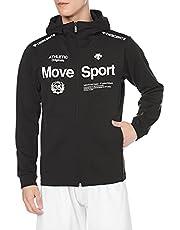 [デサント] スウェットジャケット ジャージ 吸汗速乾 ストレッチ 防風 MOVESPORT トレーニング ジム メンズ