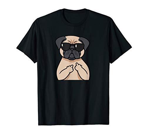 Mops Hund Pug Hunde Liebhaber T-Shirt