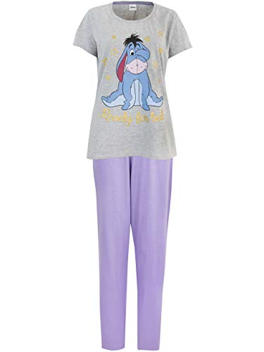 Disney Damen I-Aah Schlafanzug Violett Medium