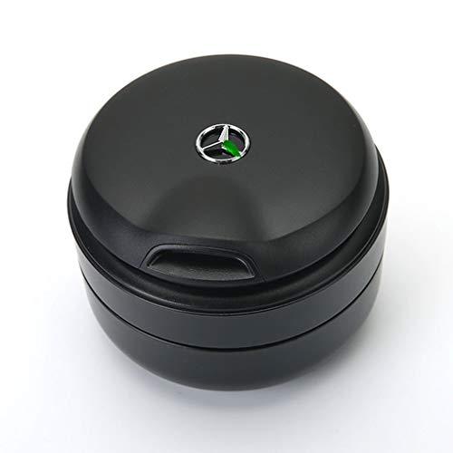 FENGRONG Anwendbar auf Mercedes-Benz Auto Aschenbecher Neue C-Klasse C200L E-Klasse GLC Lampenabdeckung Aufbewahrungsbox 4S Shop mit dem gleichen Aschenbecher (Size : A)
