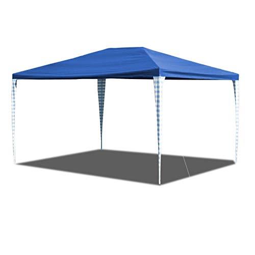 Hengda Pavillon 3x4m Wasserdicht Partyzelt Ohne Seitenteile für Garten Terrasse Markt Camping Festival als Unterstand Gartenpavillon hochwertiges Zelt