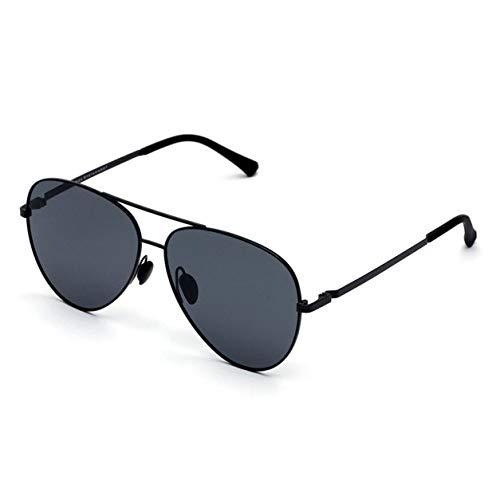 Dailyinshop Xiaomi Mijia Gafas de Sol polarizadas UV400 para Viaje al Aire Libre, versión Global Unisex, Gris