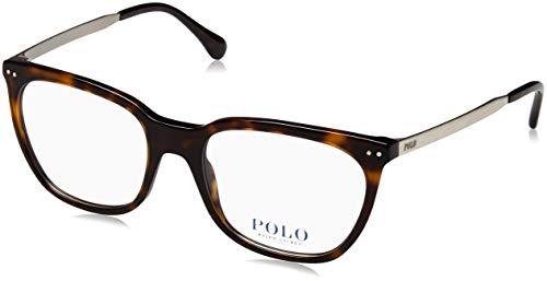 Ralph Lauren Damen 0PH2170 Brillengestell, braun (Shiny Dark Havana), 53