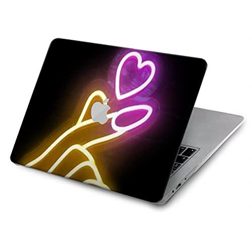 Cute Mini Heart Neon Graphic Case Cover Custodia per MacBook Pro Retina 13' - A1425, A1502