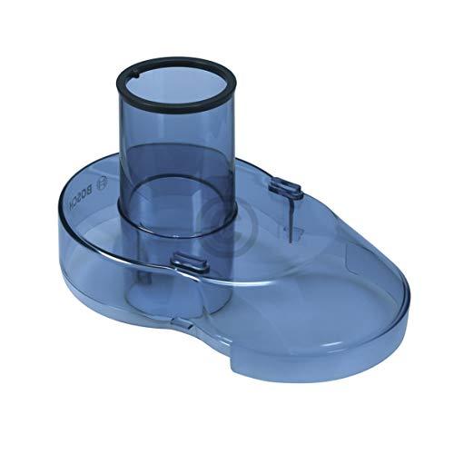 Bosch Siemens 674545 00674545 ORIGINAL Deckel Spritzschutz Abdeckung Blau mit Einfüllöffnung z.T. ME35000 MES3000 MES3500 Küchenmaschine Entsafter Saftmaschine