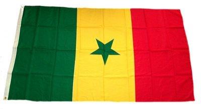 Fahne/Flagge Senegal 90 x 150 cm Flaggen