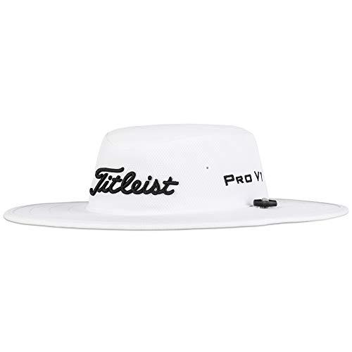 Titleist Men's Standard Tour Aussie Cap, White/Grey, One Size Fits All