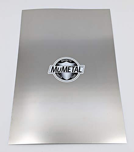 "MuMETAL Magnetic Shielding Foil .010"" Thick 8"" x 12"" Sheet"