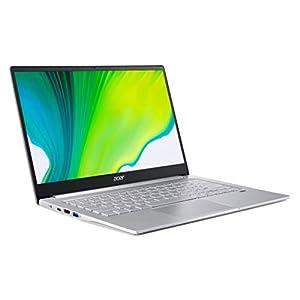 "Acer Swift 3 Thin and Light, 14"" FHD IPS, Ci5-1135G7, 8GB RAM, 256GB SSD, Intel Iris, Backlit KB, Windows 10, Silver, SF314-59-5487"