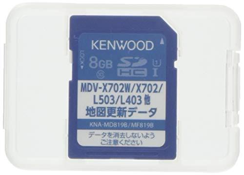 ケンウッド KENWOOD 彩速ナビ 地図更新ソフト KNA-MD819B