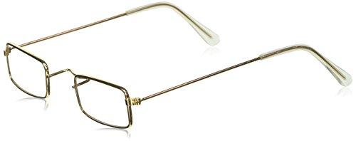 Amscan 840199 Grandma Gold Novelty Glasses, 1ct