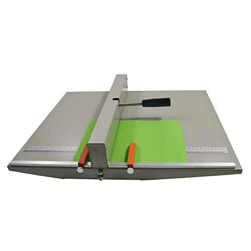 INTBUYING 紙折り機 a3 460mm 筋入れ加工 手動 自炊 製本 コピー用紙 コート紙 店 家庭用 業務用
