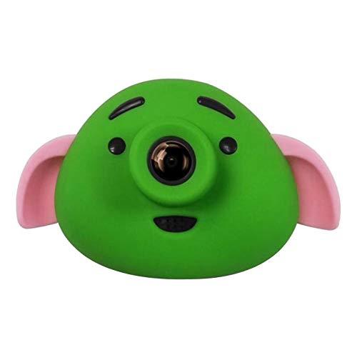 Calistouk Cámara para Niños Mini HD Cámara Digital 1080P Deportivo Cámara de Fotos Infantil Grabadora de Video Regalo de Cumpleaños Verde