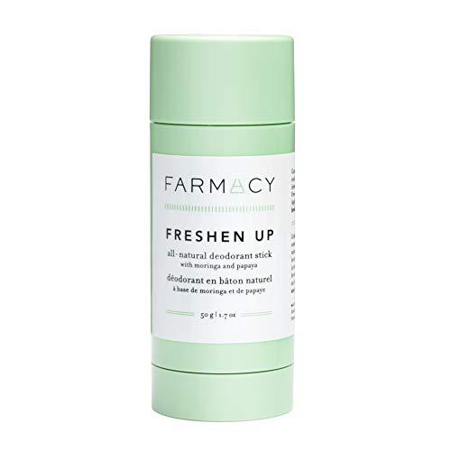 Farmacy Freshen Up All Natural Deodorant Stick - Non-Toxic, No Aluminum, Baking Soda Free, Vegan, Cruelty Free