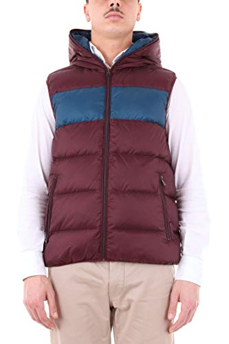 Luxury Fashion | Michael Kors Heren CF82E568R4604 Bordeaux Nylon Gilets | Seizoen Outlet