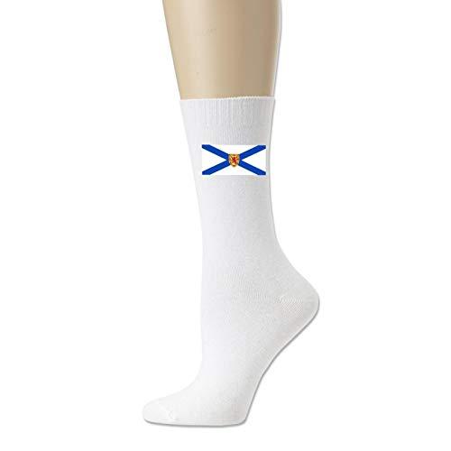 Cotton Socks for Men and Women Nova Scotia Flag,Flags of Nova Scotia,Nova Scotia Provincial Flags Novelty Sock Unisex
