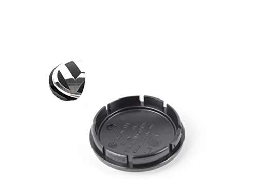 1 tappo per pneumatici, coprimozzo, modello: 1J0601171 per cerchioni in alluminio, cromato, nero