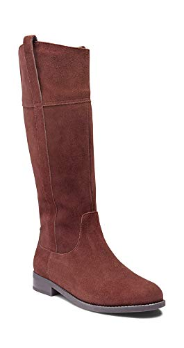 Vionic Women's Country Downing Boot Knee High Chocolate 7.5 M US