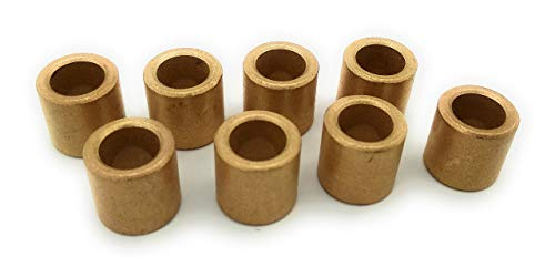 Turmberg3D - 8x Sintered Bronze bush bearing 8/12/12 mm cylindric form