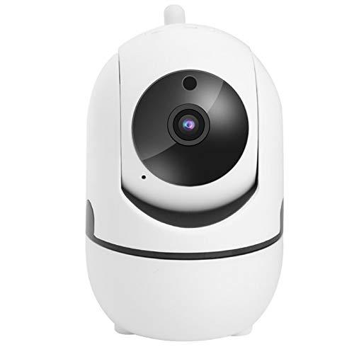 Cámara de Seguridad para el hogar Cámara Interior 1080P Cámara IP WiFi Cámara para Perros con Audio bidireccional, Vision Nocturna y detección de Movimiento para bebé, Mascota y Anciano(Blanco)